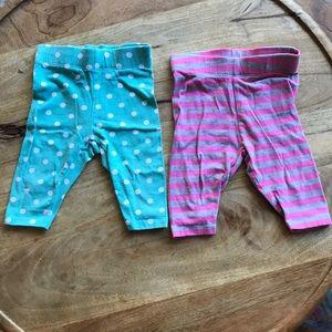 Mini Boden Leggings (2 pairs)